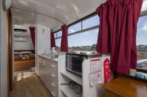 accommodation stay on a bus