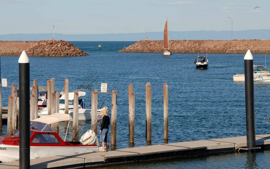Fishing in Whyalla